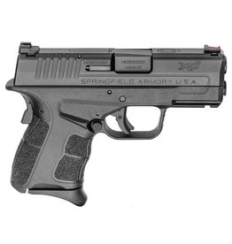 "Springfield XD-S Mod.2 9mm Luger Double 3.3"" 7+1/9+1 Black Polymer Grip/Frame Black Melonite Slide"