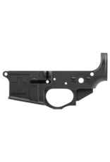 Spikes Tactical Stripped Lower Waterboarding Instructor AR Platform Multi-Caliber Black Hardcoat Anodized