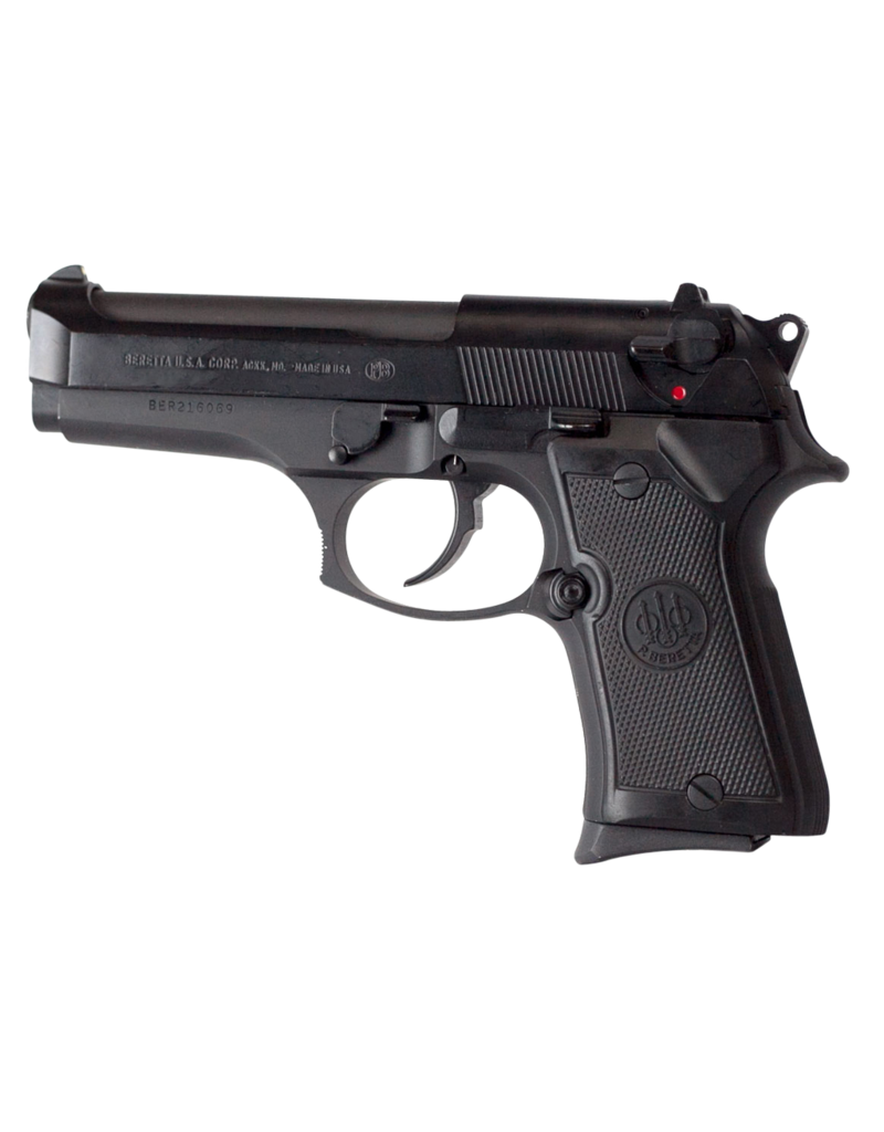 "Beretta Compact Single/Double 9mm 4.2"" 13+1 Black Grip Black Bruniton"