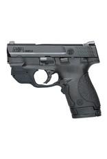 """Smith & Wesson Crimson Trace DA 9mm 3.1"""" 7+1/8+1 Black Poly Grip"""