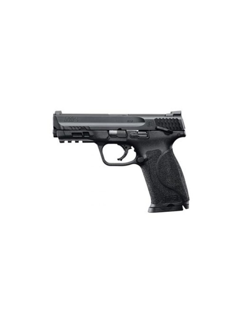 """Smith & Wesson M&P M2.0 Double 9mm 4.25"""" 17+1 TS 3Dot Black Interchangeable Backstrap Grip Black Armornite Stainless Steel"""