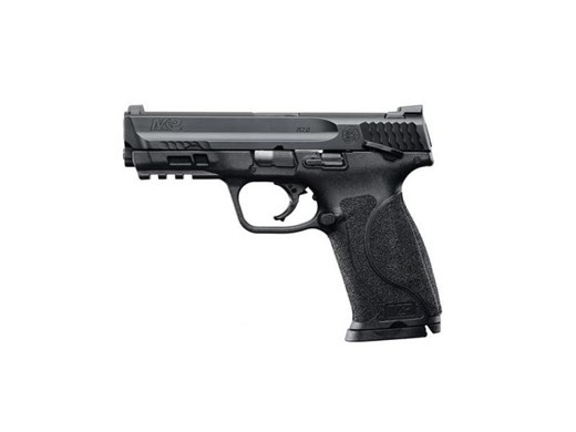 "Smith & Wesson M&P M2.0 Double 9mm 4.25"" 17+1 TS 3Dot Black Interchangeable Backstrap Grip Black Armornite Stainless Steel"