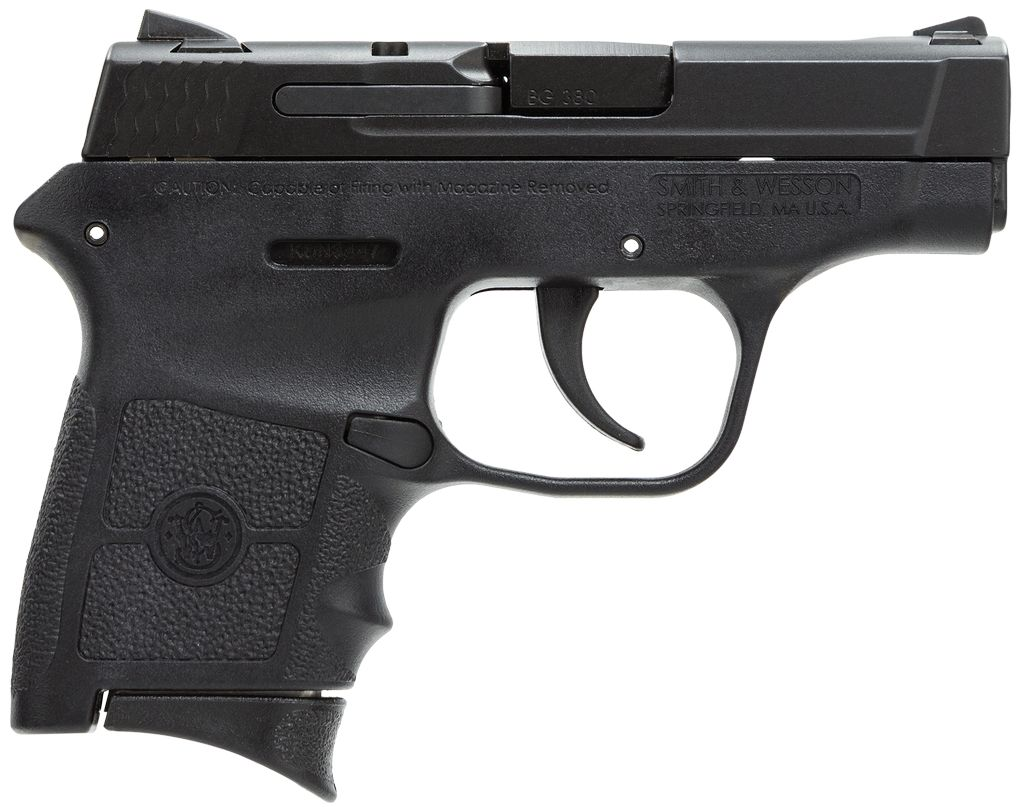 "Smith & Wesson 380 ACP 2.75"" 6+1 Syn Grip/Frame Blk"