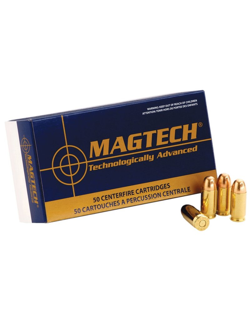 Magtech SPORT SHOOTING 40 Smith & Wesson Full Metal Case 180 GR 50Box/20Case