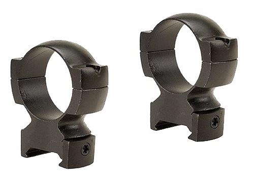 Weaver Grand Slam Rings 30mm High 30mm Diameter Matte Black