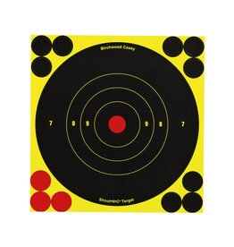 "Birchwood Casey Shoot-N-C 6"" Bullseye 12 Pk"