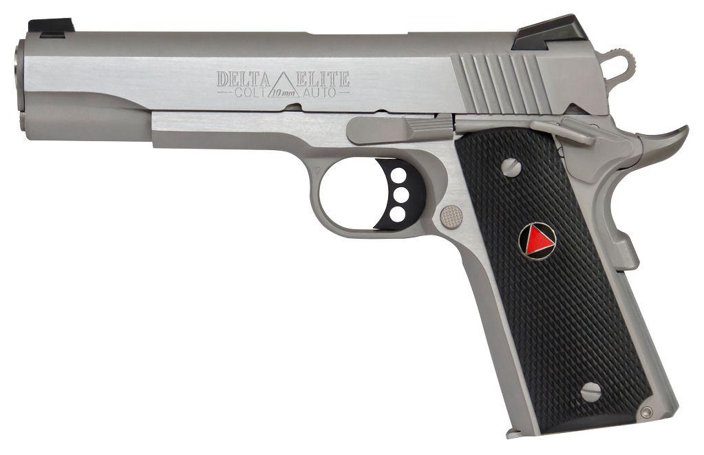 "Colt Delta Elite Single 10mm 5.0"" 8+1 Grip Stainless"
