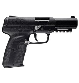 """FNH Single 5.7mmX28mm 4.8"""" 20+1 3 Mags Blk Poly Grip"""
