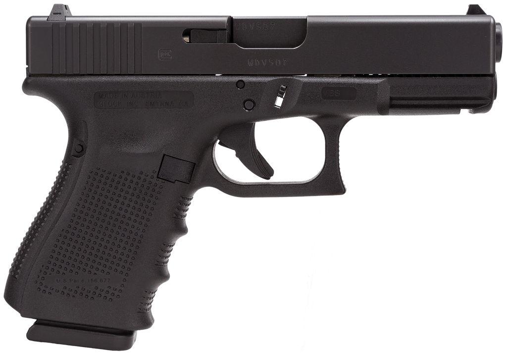 """Glock Gen 4 40S&W 4.02"""" 13+1 FS Modular Backstrap Black"""