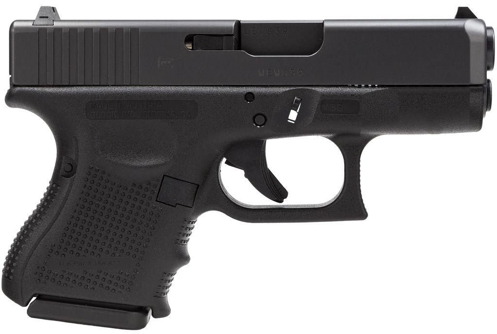 """Glock G27 Gen 4 40S&W 3.46"""" 9+1 FS Modular Backstrap Blk"""