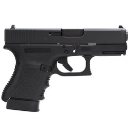 "Glock G30 Slim 45 ACP 3.78"" 10+1 Fixed Sights Poly Grip/Frame Blk"