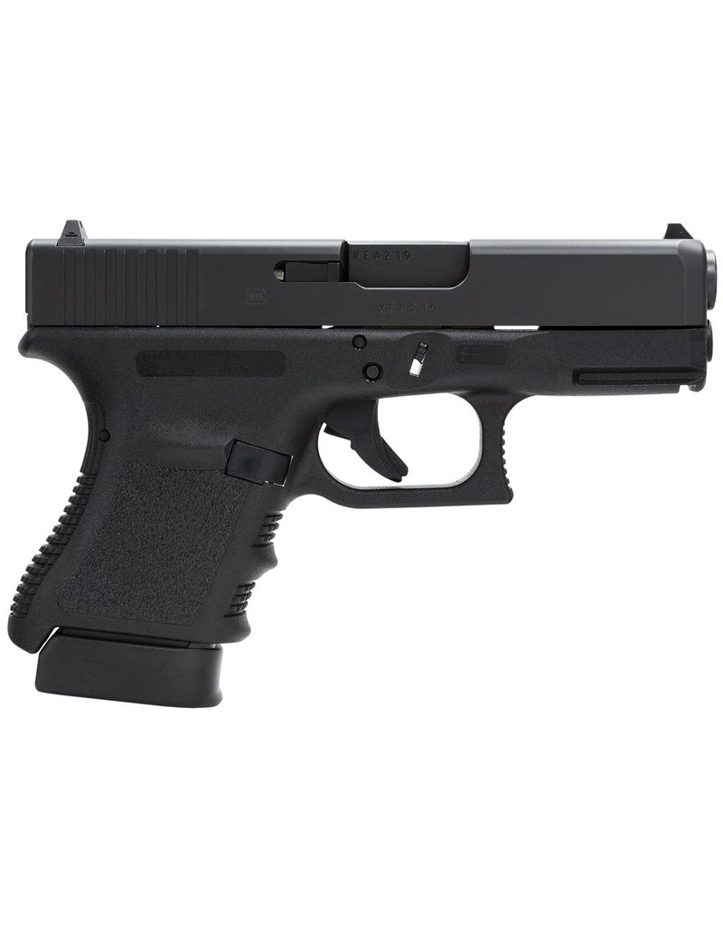 "Glock G30 Slim 45 ACP 3.78"" 10+1 Fixed Sights Poly Grip/Frame Blk"