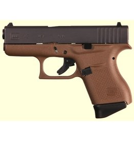 "Glock G43 G3 FDE 9MM 6+1 3.39"" FS<br /> TWO 6RD MAGAZINES"