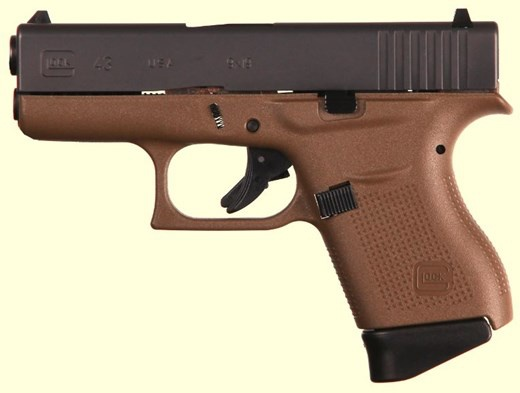 Glock G43 G3 FDE 9MM 6+1 3.39&quot; FS<br /> TWO 6RD MAGAZINES