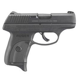 """RUGER 9mm 3.12"""" 7+1 NMS Blk Poly Grip/Frame Blued"""