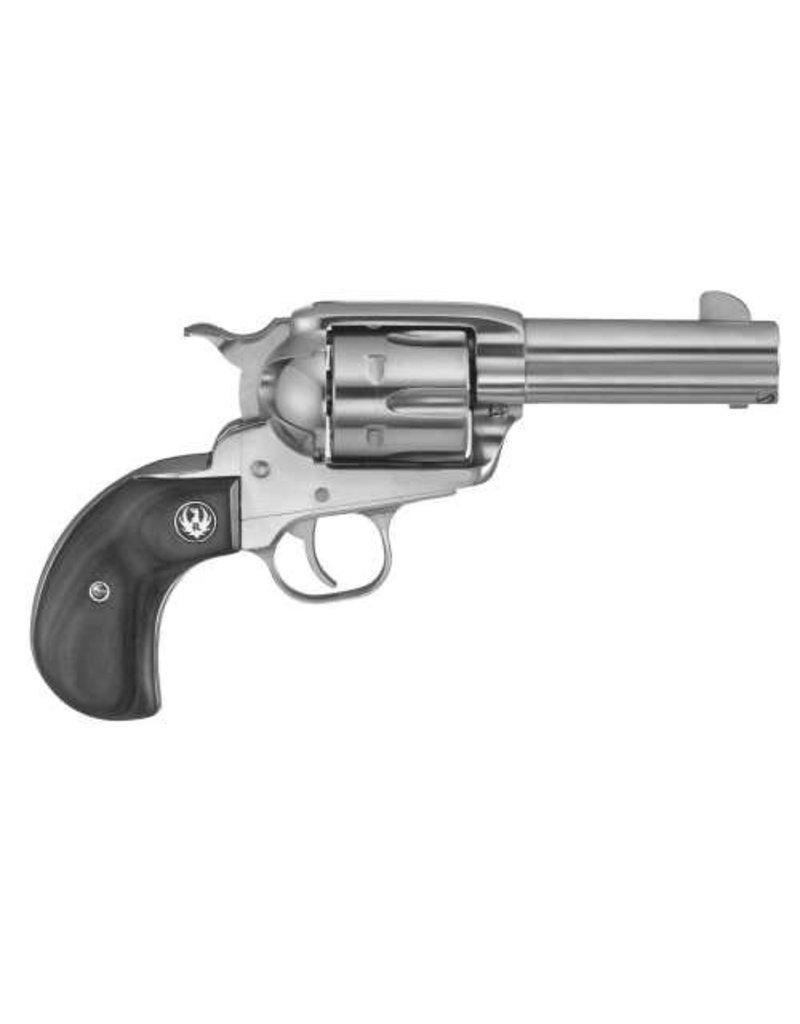 RUGER VAQUERO BIRDS HEAD 45LC SS/LAM<br /> 5151 BLACK LAMINATE GRIPS<br /> 45 Colt