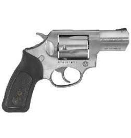RUGER 357MAG 2-1/4 SS/BLK WD<br /> 5775 RUBBER W/BLK WOOD INSERTS<br /> 357 Magnum | 38 Special