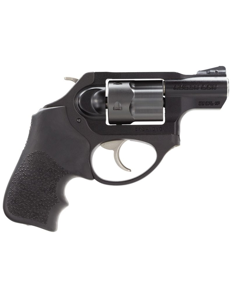 "RUGER Ruger LCRx SA/DA 38 Special +P 1.875"" 5rd Hogue Tamer Monogrip Black"