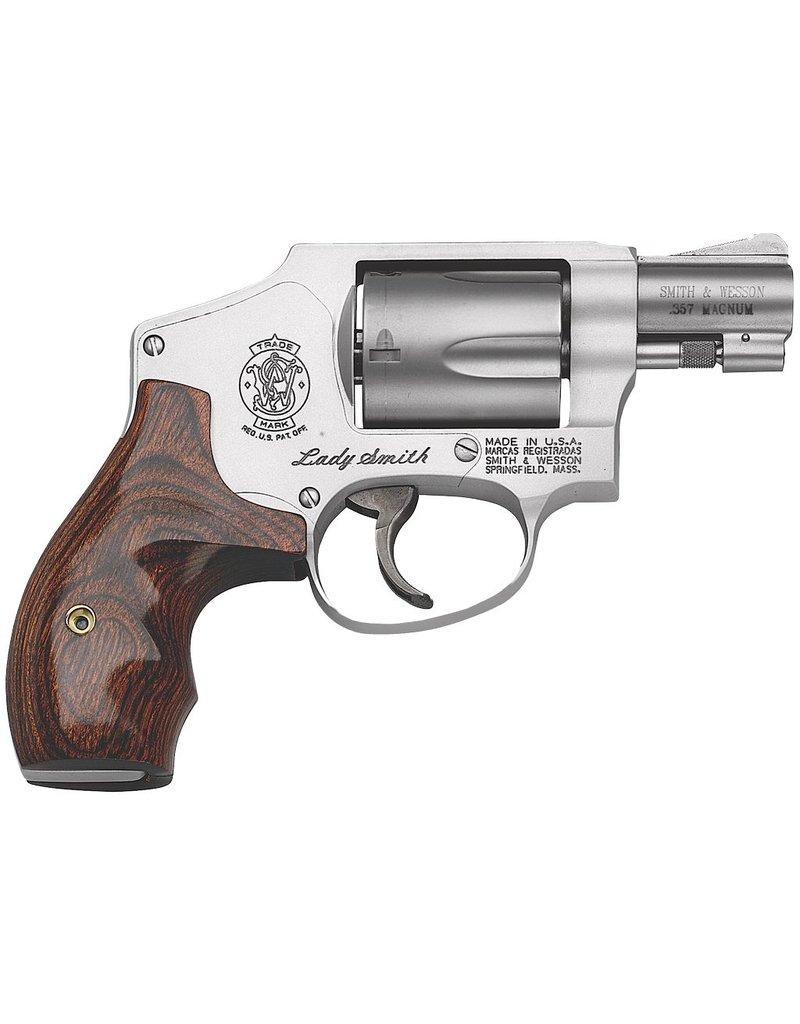 "Smith & Wesson Airweight Internal Hammer 38 Spl 1.87"" 5rd LadySmith SS Wood Grp"