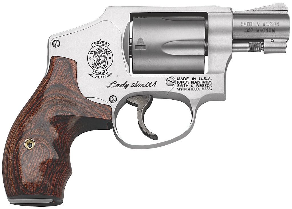 "Smith & Wesson Airweight Internal Hammer 38 Spl 1.87"" 5rd LadySmith SS Wood Grp"