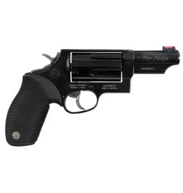 "Taurus Judge Tracker Public Defender 410/45LC 2.5"" 5rd Ribber Grip Blu"