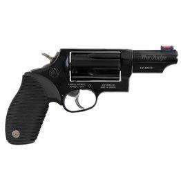"Taurus Judge Tracker Public Defender 410/45LC 2.5"" 5rd Ribber Grip Blu"