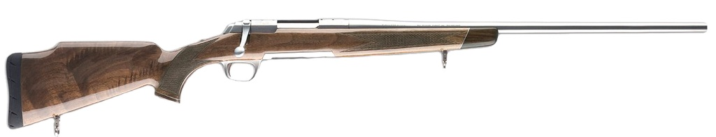 "Browning White Gold 308 Win 22"" 4+1 Gloss Walnut w/Rose Stk SS"