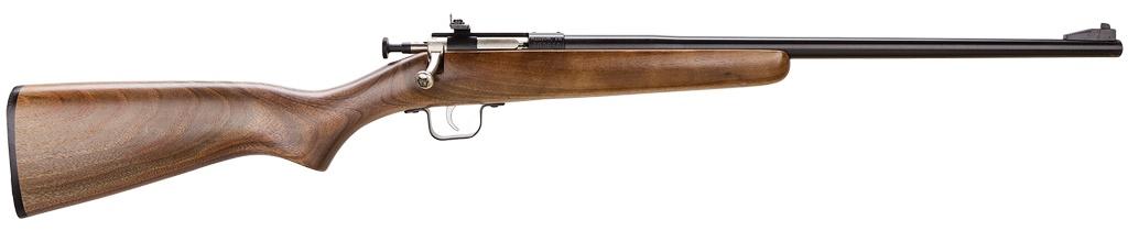 """CRICKETT Crickett Bolt 22 Long Rifle 16.12"""" American Walnut Blued"""