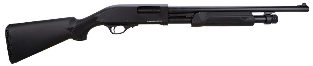 "CZ CZ612 Home Defense Combo 12ga 18.5""/26"" 5+1 3"" Syn Blk Stk"