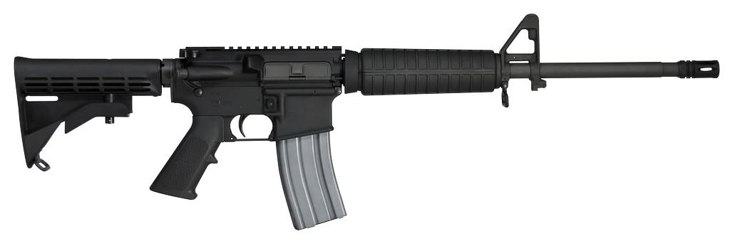 "Colt SA 5.56 NATO 16.1"" 30+1 Synthetic Black Stk Black"