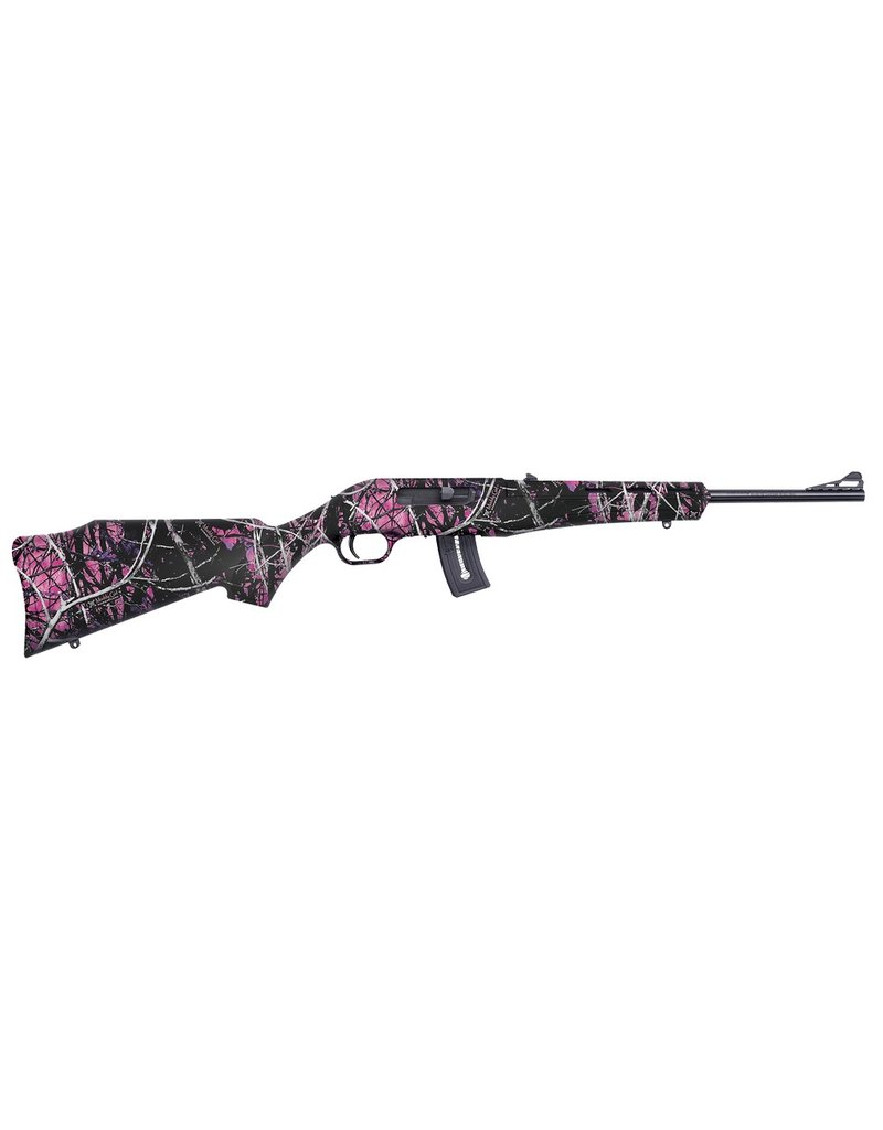 "Mossberg 22LR 16.5"" 10+1 AS Muddy Girl Syn Stock Blued"