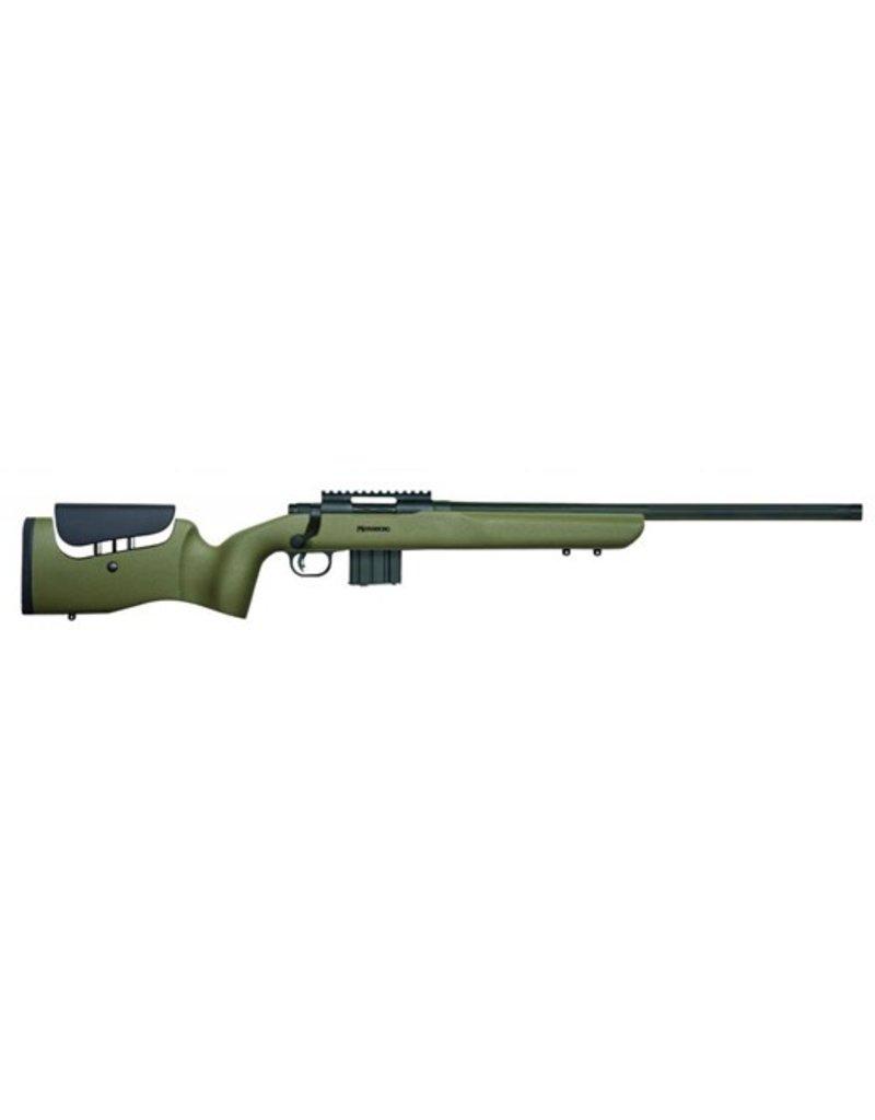 "Mossberg LR Bolt 223 Remington 20"" TB 11+1 Synthetic Green Stk Blued"