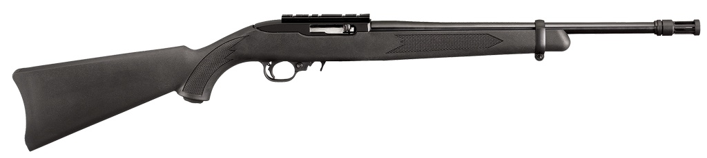 "RUGER Tactical SA 22 Long Rifle 16.13"" Black Synthetic Black Matte"