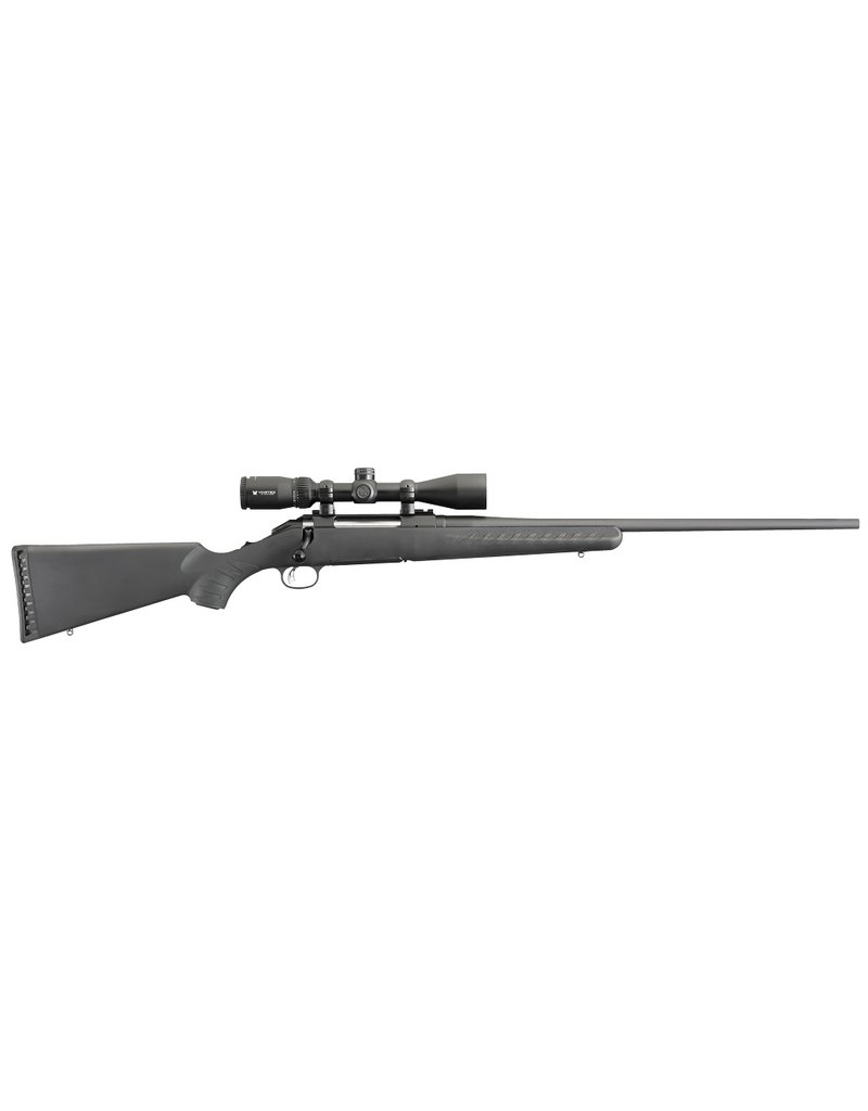 "RUGER American w/Vortex Crossfire II Bolt 308 Winchester/7.62 NATO 22"" 4+1 Synthetic Stk Black"
