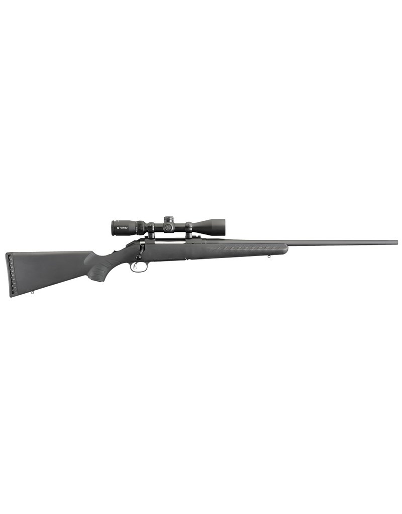 """RUGER w/Vortex Crossfire II Bolt 243 Winchester 22"""" 4+1 Synthetic Stk Black"""