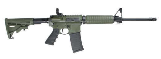 RUGER AR-556 5.56MM OD GRN 16&quot; 30RD<br /> 8504 FORWARD ASSIST/DUST COVER<br /> 223 Rem | 5.56 NATO3