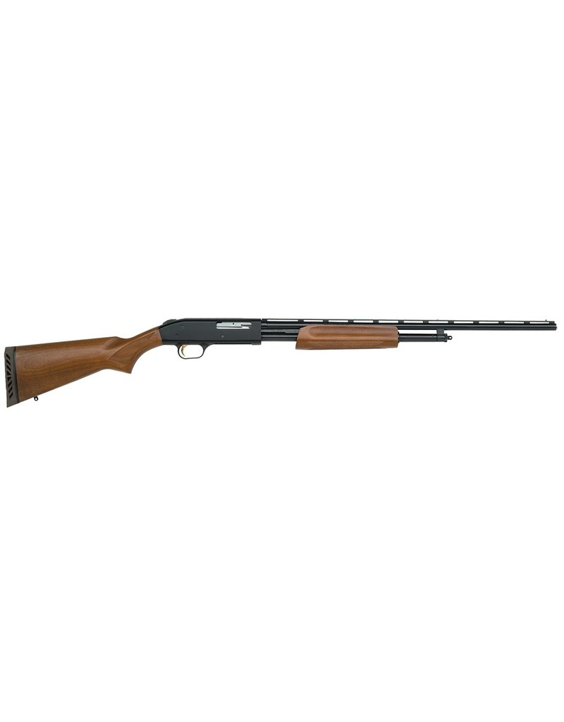 "Mossberg Pump 410 ga 24"" 3"" Wood Stk Blued"
