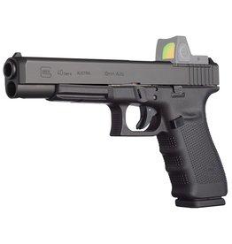 "Glock Glock G40 Gen 4 MOS DA 10mm 6"" 10+1 AS Poly Grip/Frame Black"