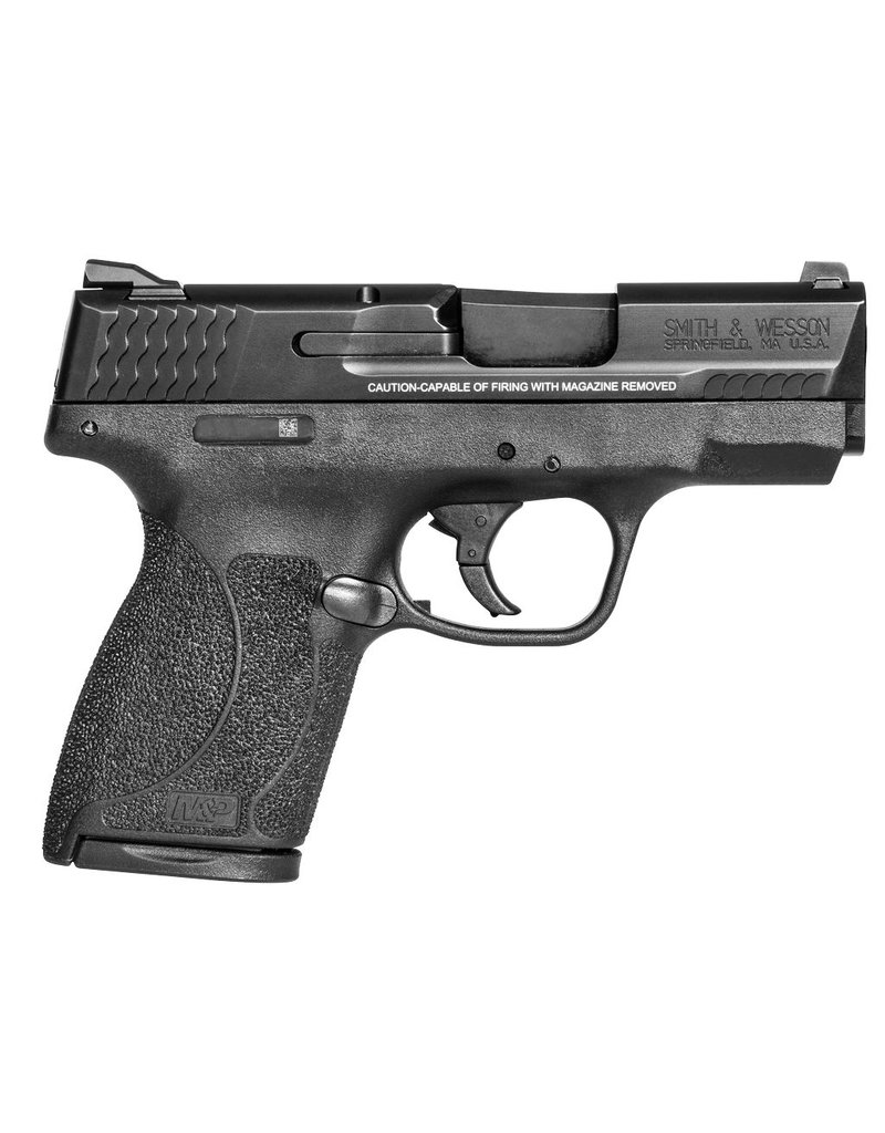"Smith & Wesson Shield Single/Double 45 Automatic Colt Pistol (ACP) 3.3"" 6+1/7+1 Black Polymer Grip"
