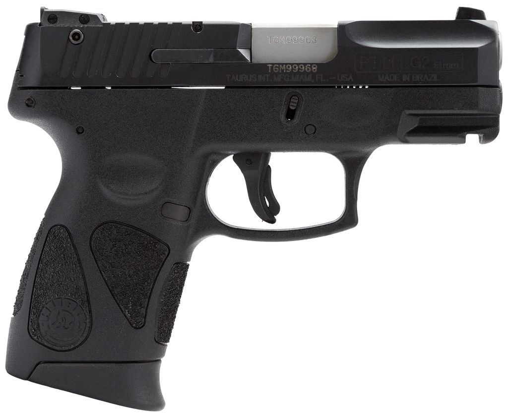 "Taurus MillPro DAO 9mm 3.25"" 12+1 Syn Grip Blued"
