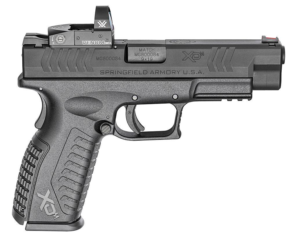 "Springfield 9mm 4.5"" 19+1 FOF Red Dot Blk Interchangeable Backstrap Poly Frame Blk"