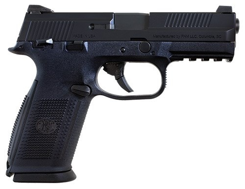 FNH 40S&amp;W BLK 14+1 NS *<br /> STRIKER FIRED / NIGHT SIGHTS<br /> 40 S&amp;W