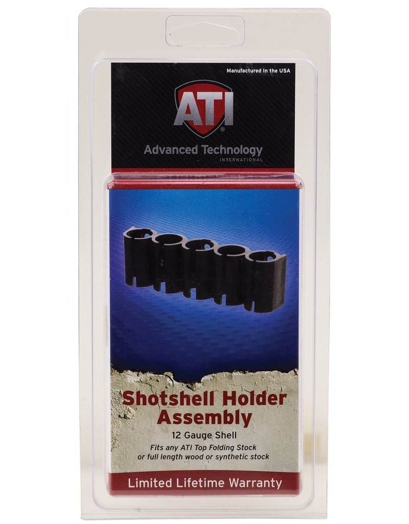 ATI Holds 5 Additional Shotshells Plastic Black