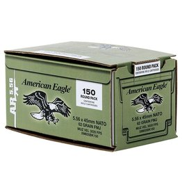 American Eagle M855 5.56 NATO 62GR FMJ 150 Box Bulk Pack/