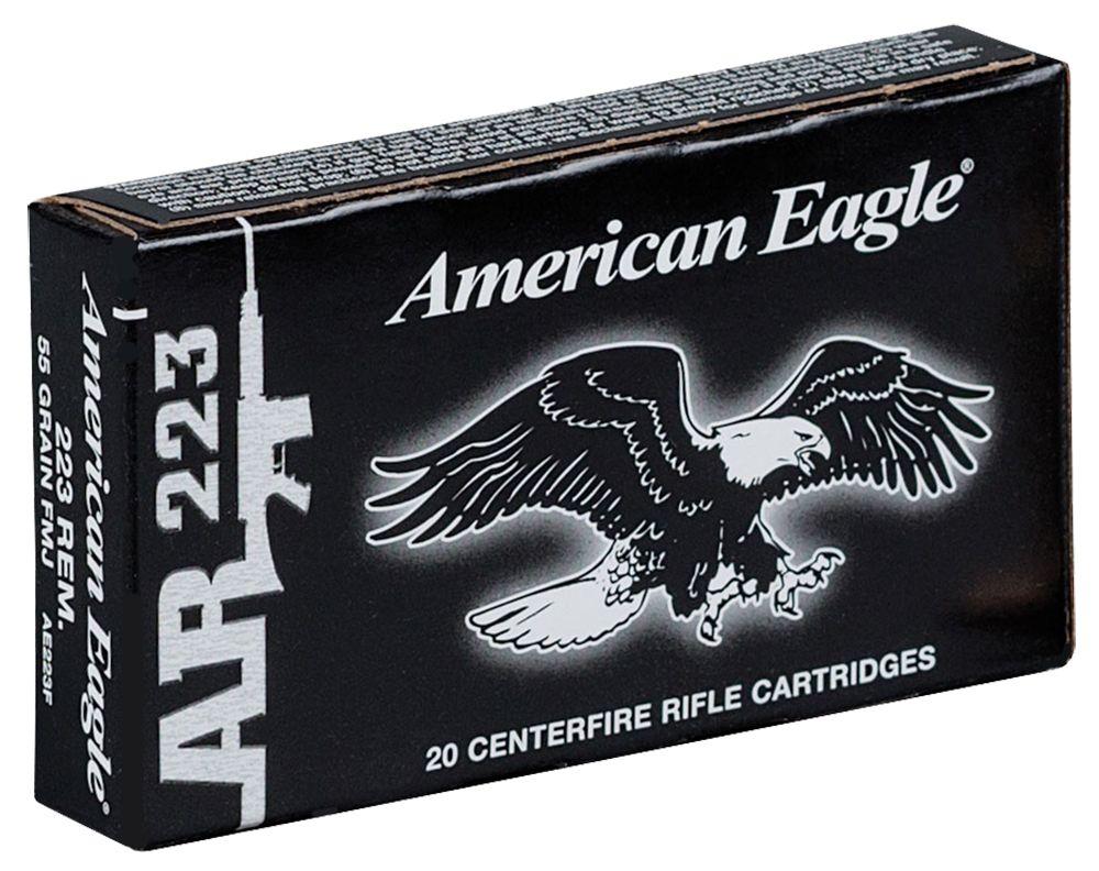 American Eagle Federal AE223F American Eagle 223 Remington 55GR Full Metal Jacket