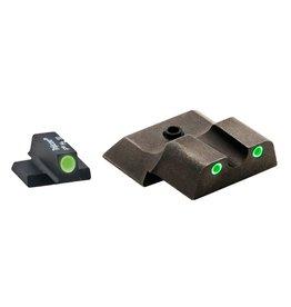 Ameriglo AmeriGlo SW145 Tritium Set S&W M&P Shield 3Dot Green