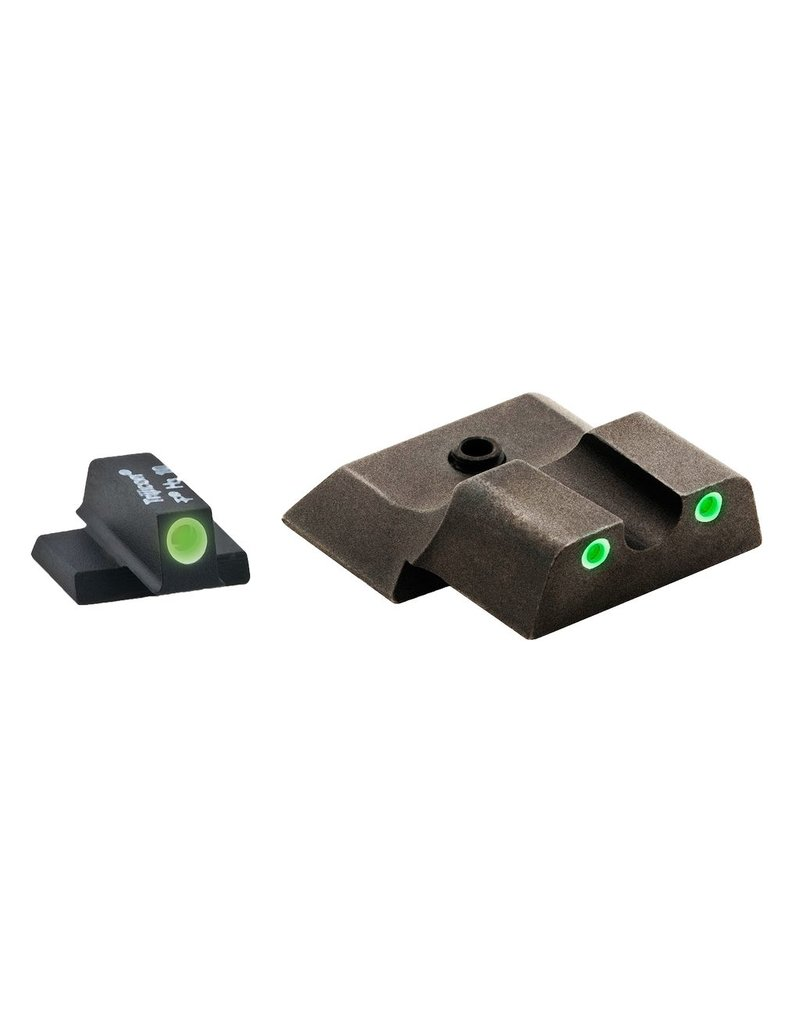 Ameriglo AmeriGlo SW145 Tritium Set S&W M&P Shield 3Dot Green