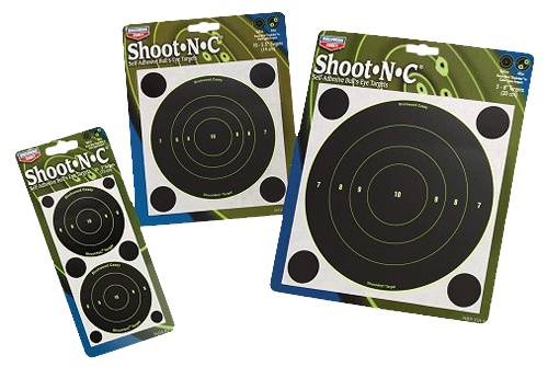 "Birchwood Casey Shoot-N-C 5.5"" Bull''s-Eye 60 Pac"