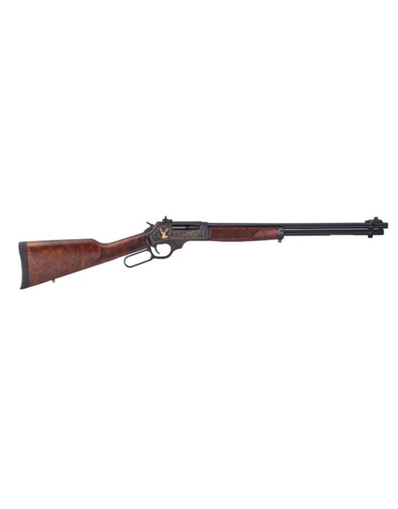 "Henry Henry H009WL Large Caliber Wildlife Edition Lever 30-30 Winchester 20"" 5+1 American Walnut Stk Blued"