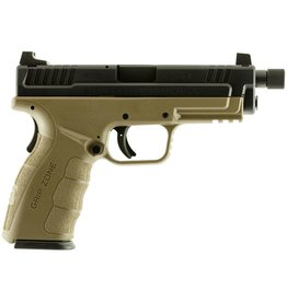 "Springfield XD MOD.2 Double 9mm 4"" 10+1 Flat Dark Earth Polymer Grip Black"